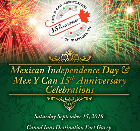 Mexican Independence and 15th Anniversary Celebration Gala