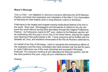 Mayor Message 2019